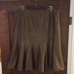 Armani Collezioni Silk Dupioni Skirt
